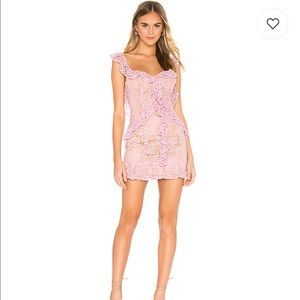 Majorelle NWT Ashton Mini Dress in Candy pink S
